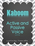 Active and Passive Voice Kaboom Game