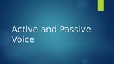 Active and Passive Voice PowerPoint