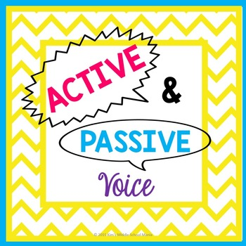 Active and Passive Voice PowerPoint Presentation
