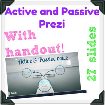 Active and Passive Voice Prezi