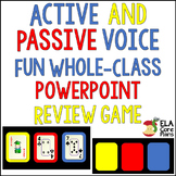 Active and Passive Voice Review Game ~ Fun and Easy Whole