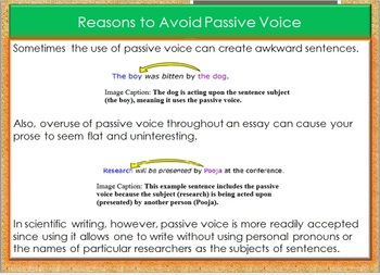 Active and Passive Voice Tutorial
