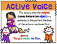 Active and Passive Voice Anchor Charts - Verbs Have a Voice Too!