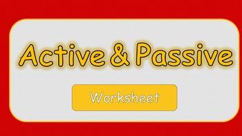 worksheet. Active And Passive Voice Worksheets. Grass Fedjp ...