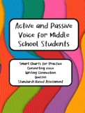 Active and Passive Voice for Middle School Students by Dianne Watson