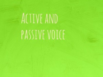 Active or Passsive