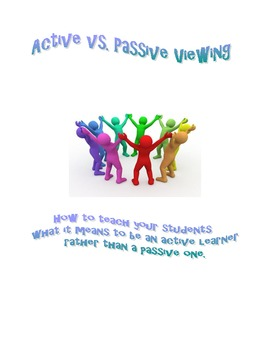 Active vs. Passive Learning - Using the Big Six Reading Strategies