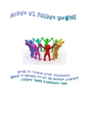Active vs. Passive Learning - Using the Big Six Reading St