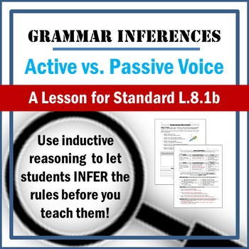 Active vs. Passive Voice Lesson: Inferring Grammar using Inductive Reasoning!