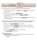 Active vs. Passive Voice: Ten-Minute Grammar Unit #25