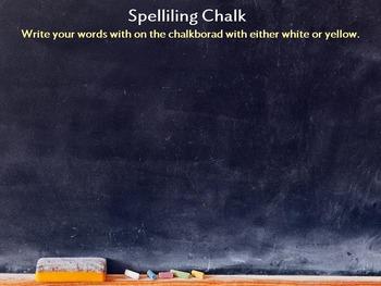 ActiveInspire Spelling Center Activities