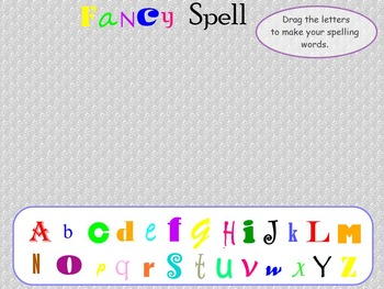 ActiveInspire Spelling Center Activities