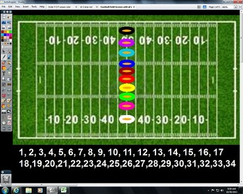 Activeboard Football Review Game