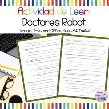 Actividad/Prueba de Leer: ¿Asistirías a un Doctor Robot?