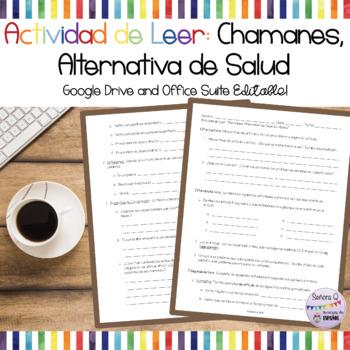 Actividad/Prueba de Leer: Una Alternativa de Medicina Moderna en México