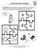Actividad Rompecabeza b,d,p,q_puzzles activitie