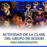 Actividad de la clase del grupo de Suzuki