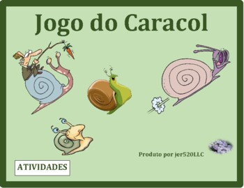 Actividades (Activities in Portuguese) Caracol Snail game