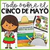 CINCO DE MAYO en español: Lectura, escritura,manualidades, Boom Cards and Google