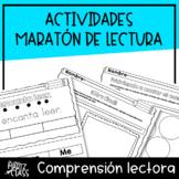 Actividades Maratón Puertorriqueño de Lectura (SPANISH READING ACTIVITIES)