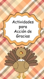 Actividades Para Acción de Gracias
