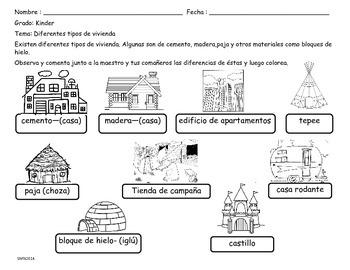 Actividades Tema:Tipos de vienda