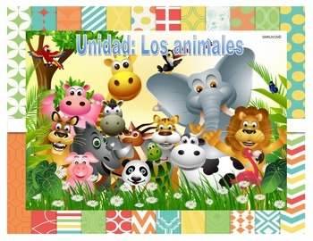 Actividades Unidad Los animales