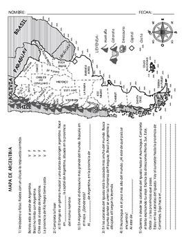 Actividades con mapas  Map Activities