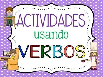 Actividades con verbos