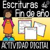Actividades de Escritura para Fin de Año - Digital - Googl