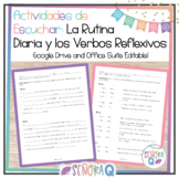 Spanish Daily Routine and Reflexive Verbs Listening Activities