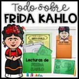 FRIDA KAHLO en español: Actividades lectura y escritura   Spanish Cinco de Mayo