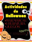Actividades de Halloween/Halloween Activities in Spanish
