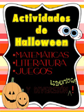 Actividades de Halloween/Halloween Activities in Spanish