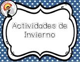 Actividades de Invierno Posters