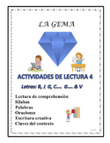 A3 (c) Actividades de la Lectura 4 letras B, J, G, C (suav