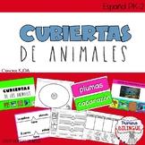 Actividades de ciencias para Kinder/ Cubiertas de Animales