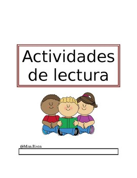 Actividades de lectura/ Reading Activities