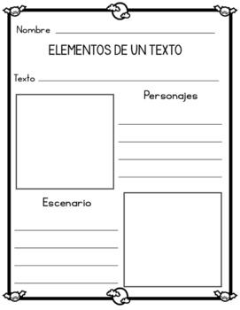 Actividades de lectura sobre Halloween (Halloween literacy activities SPANISH)