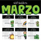 Actividades de marzo / March Activity Pack Spanish