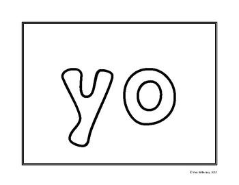Actividades de palabras de uso frecuente (Spanish High Frequency Words)
