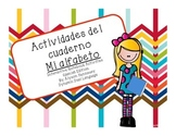 Actividades del cuaderno-Interactive Phonics activities in Spanish!