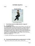 Actividades deportivas: El patinaje sobre hielo y otros deportes