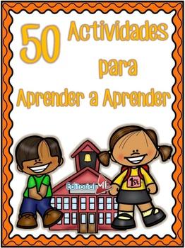 Actividades para Aprender a Aprender Primaria Cuarto Grado by ...