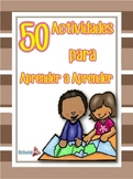 Act. para Aprender a Aprender Primaria 5° -- Act to Learn to Learn Primary 5th