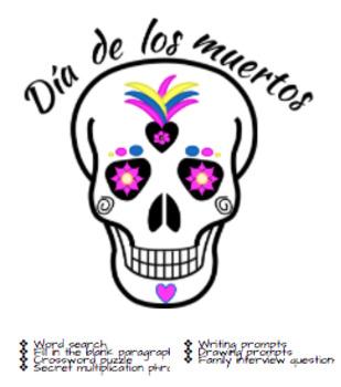 Actividades para Día de los muertos/Day of the Dead Activities