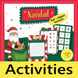 Actividades para Navidad - Christmas Activities (Spanish)