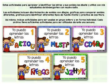 Yo puedo aprender las letras # 5 - Jj, Zz, Hh, Yy y Kk
