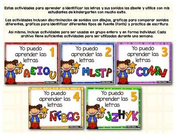 Yo puedo aprender las letras # 4 -   Nñ, Qq, Ff, Bb y Gg