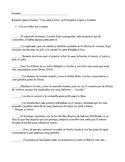 """Actividades para el cuento """"Una carta a Dios"""" (activities)"""